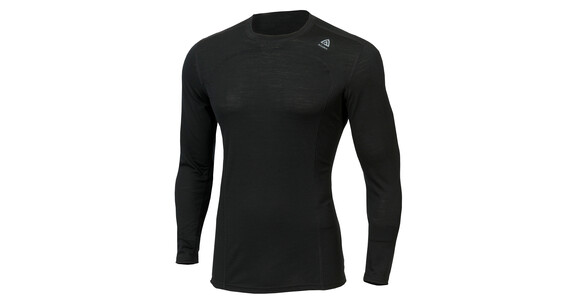 Aclima Lightwool Crew Neck Men jet black